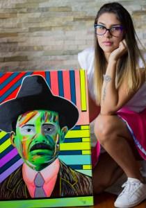 """Génesis Vásquez afirma que """"vivir con arte en cuarenta es felicidad y energía"""""""