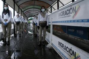 Abrieron paso fronterizo tras crecida del río Táchira (Video)