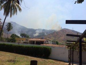 """Activaron """"operación llovizna"""" para combatir incendio en el parque Henri Pittier (Fotos)"""