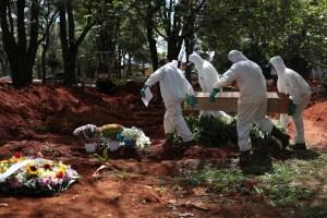 Brasil roza las 190.000 muertes y los 7,4 millones de casos de coronavirus