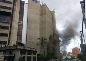Netblocks confirmó que servicio de Internet cayó tras el incendio en sede de Cantv