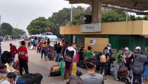 Más de 500 venezolanos regresaron por Cúcuta