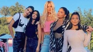 Las hermanas Kardashian se fueron a los golpes y ¡TODO! quedó registrado