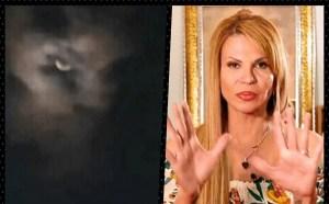 Mhoni Vidente generó temor con su interpretación del supuesto 'Lucifer' que apareció en el cielo (+Fotos)