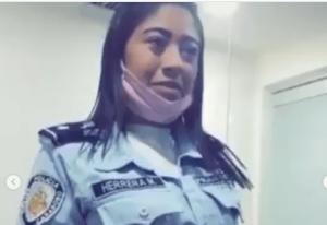 Destituyen a funcionaria de la Policía de Aragua por un polémico video que hizo para TikTok