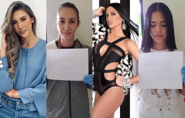 Gabriela Coronado y Laura Zabaleta: Misses detenidas en nueva ...