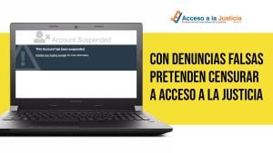Régimen chavista pretende censurar a Acceso a la Justicia con denuncias falsas