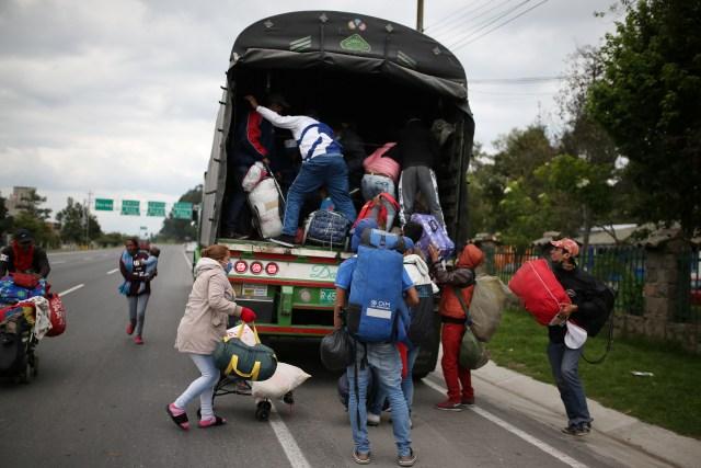 La nuevo loca teoría de Maduro sobre lo venezolanos retornados