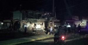 Local comercial explotó en Maracaibo (Fotos)
