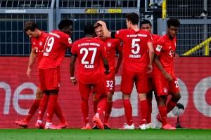 Una genialidad de Kimmich selló el triunfo del Bayern Múnich frente al Dortmund (Video)