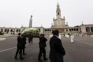 El Santuario de Fátima vuelve a recibir peregrinos