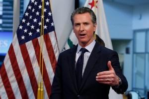 "Detuvieron a un indigente ""agresivo"" por acercarse al gobernador de California (Video)"
