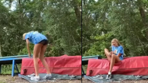 ¡Aterrador! Una serpiente venenosa muerde a una chica mientras grababa su rutina de baile (VIDEO)