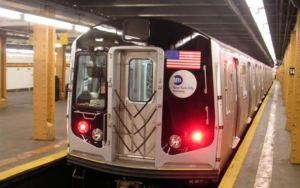 Grabaron a una pareja teniendo sexo en un tren de Nueva York tras ser desinfectado