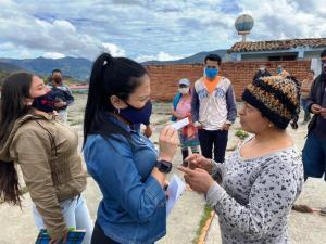 Caseríos y aldeas fronterizas de Rafael Urdaneta no cuentan con insumos para el descarte del Covid-19