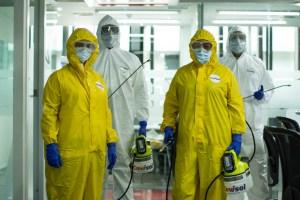 Covisol: La diferencia entre limpiar y desinfectar