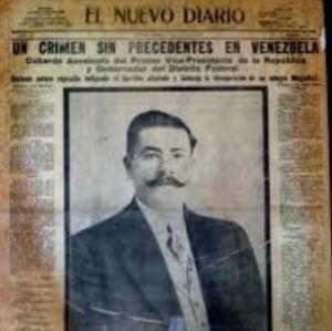 Hace 97 años, una muerte por 27 puñaladas tiñó de sangre uno de los dormitorios del Palacio de Miraflores