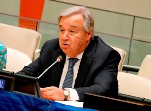 México felicitó a Guterres por su reelección al frente de la ONU