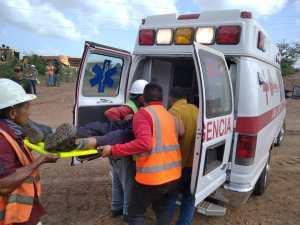 Muerte accidental en Mara: A un minero le cayó encima una pieza pesada de carbón (FOTOS)
