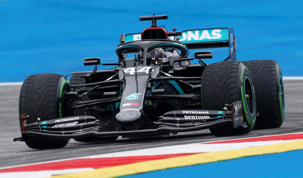The British Lewis Hamilton (Mercedes), reigning world champion, signed the best time of the first free practice session of the Austrian Grand Prix, th