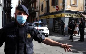 La policía catalana detiene a dos ciudadanos argelinos en una operación antiterrorista en Barcelona