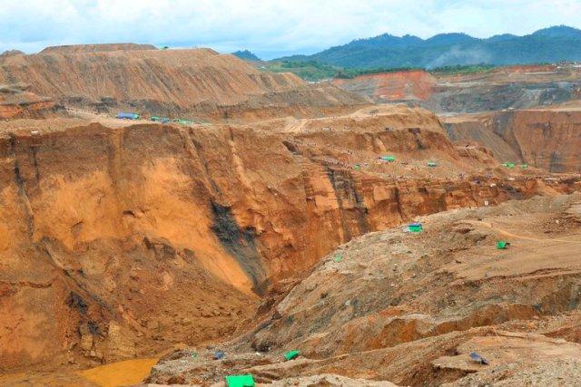 Minas de jade Birmania