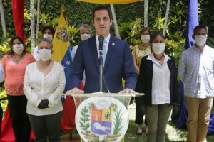 Guaidó a empresarios de Nueva Esparta: El 90% de los venezolanos lucha para salir de la dictadura