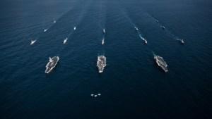 EEUU enviará buques de guerra al mar de China, donde Pekín realiza maniobras militares