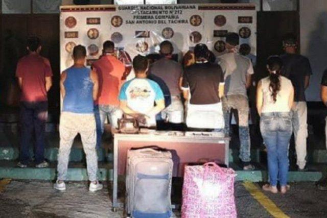GNB en Táchira desarticula banda de trocheros que estafaba a retornados