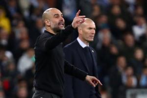 Guardiola se deshace en elogios hacia Zidane y el Real Madrid previo a su choque en Champions