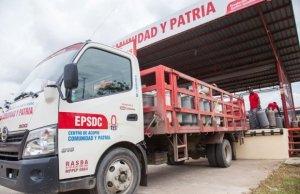 Protestas luego que alcalde chavista de Monagas desviara un camión con gas doméstico (VIDEOS)