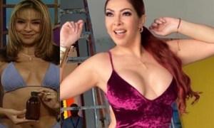 ¡Tremendo cuerpazo! La Beba Rojas recordó su mejor época con sexy video