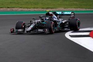 Valtteri Bottas marca el mejor tiempo en los terceros libres en Silverstone