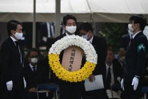 Nagasaki conmemora los 75 años del lanzamiento de la bomba atómica (FOTOS)