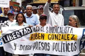 José Miguel Guerrero exigió libertad de Rubén González y todos los presos políticos