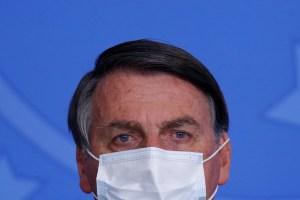 Bolsonaro anunció nuevo atraso en inicio de vacunación contra el Covid-19