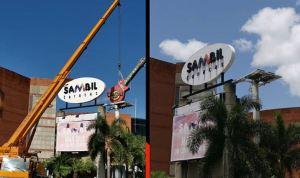 ¡Adios Hard Rock Café Caracas! Desmontaron la emblemática guitarra del Sambil (Fotos)