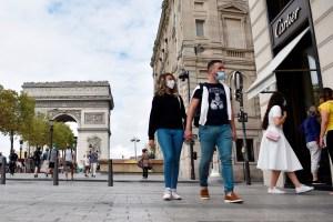 Francia registró el domingo más de 52.000 contagios de Covid-19