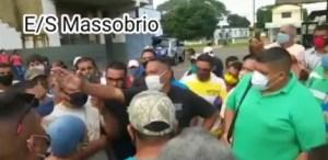 Así respondió el concejal Dimas Acosta al reclamo del pueblo por gasolina y gas en El Tigre (Video)
