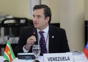 Rafael Domínguez ratificó ante el cuerpo diplomático decisión de no participar en fraude electoral