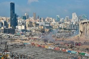 Beirut: Dolor e indignación entre la destrucción y los vidrios rotos