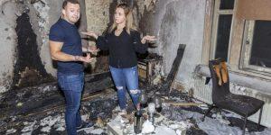 Preparó una velada para pedirle matrimonio a su novia pero incendió la casa por error (Fotos)