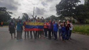 Protesta en San Félix por falta de gas doméstico #13Ago