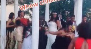 """¡Me opongo! La amante de """"Anthony"""" le detuvo el matrimonio para decirle que está embarazada (VIDEO)"""