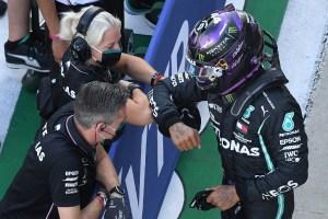 Hamilton se hace con la pole position del Gran Premio de Rusia de F1