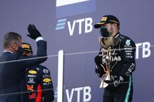 Valtteri Bottas gana el Gran Premio de Rusia delante de Verstappen y Hamilton