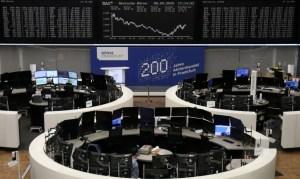 Las bolsas europeas repuntan impulsadas por los beneficios industriales chinos