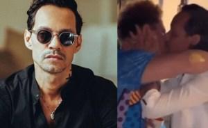 Revelaron video de Marc Anthony besando a otro hombre