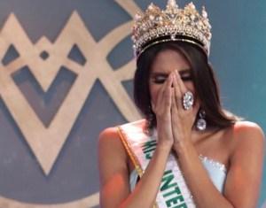 El momento más incómodo: Lo que le hizo la reina saliente a una de las ganadoras del Miss Venezuela 2020