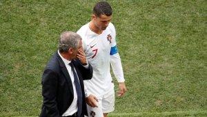 El técnico de Portugal explicó que obligaría a Cristiano Ronaldo a retirarse del fútbol